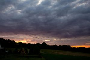 Dramatic Sky by mprangenberg