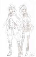 AEA - Winter outfits by suga-ovadose