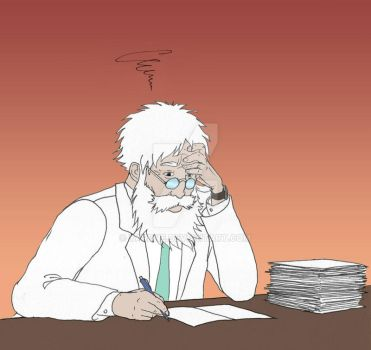Day 142 - crucial discovery or correcting exams? by YardnE