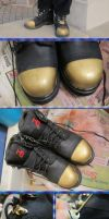 Brass-Fitted Boots Mark III by Windthin