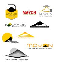 Mayon Packaging and Print Logo by koisoujiro