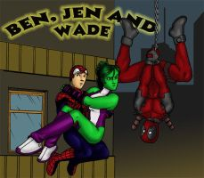 Ben, Jen and Wade by psychotoonist