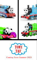 My TOMY TF Poster by TrainboysArtwork