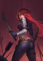 Katarina Du Couteau by Rumbee