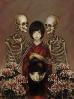 Mouryou and Skeleton by su-jinko