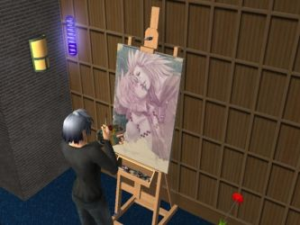 The AkuRoku Painter by SpellboundFox
