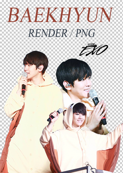 EXO - Baekhyun // Render // Pack PNG by EXOEDITIONS