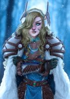Seraphine - Commission by AnnettaSassi