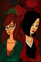 Daria and Jane by Dark-angel-star