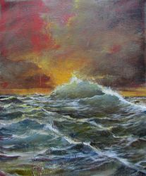 The Surging Sea by Boias