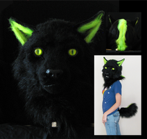 Glow Panthera SOLD by FeralFacade