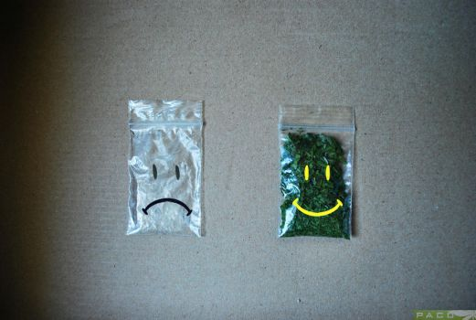 Pouch for Weed: State of mind by GanjaPaco