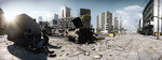 Out In The Open [Battlefield 3 Panorama] by 2900d4u