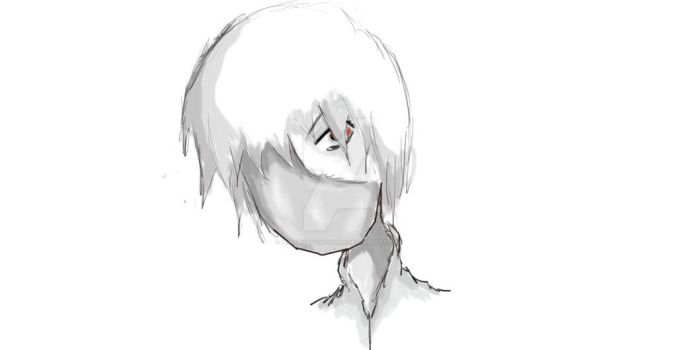 The Sketch Of Kaneki by TheCrossfollower