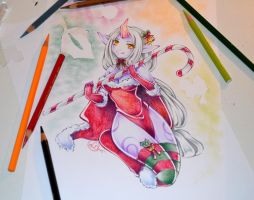 Mistletoe Soraka by Lighane