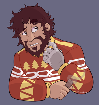 Ugly Sweater by itsaaudraw