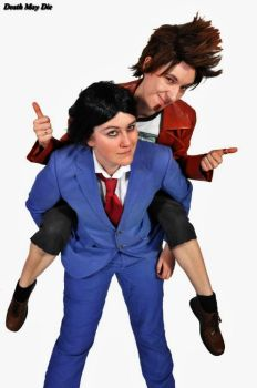 Phoenix Wright: Buds by stripeydani