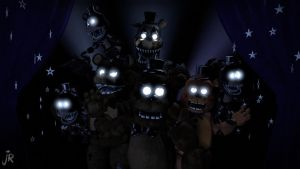 Mr.Fazbear 200 watchers Special pt1 (fnaf sfm) by JR2417