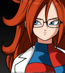 Android 21! by FlameXSilver