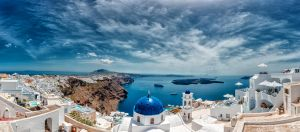 Santorini Panorama by Stefan-Becker