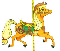 Carousel Applejack - color by lucky-lotto