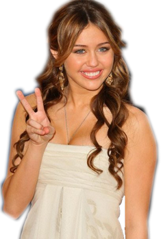 Miley Cyrus PNG by irinithaa