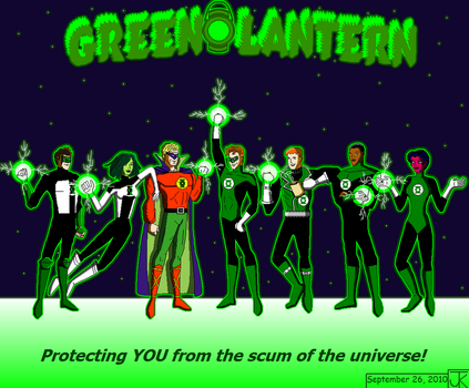 Brightest Day, Blackest Night by Captain-Chaotica