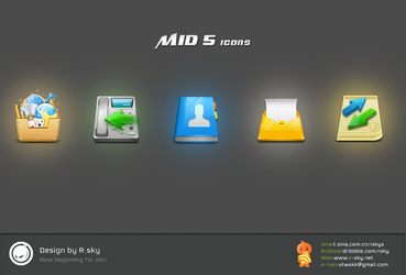 MID 5 icons by Rskys