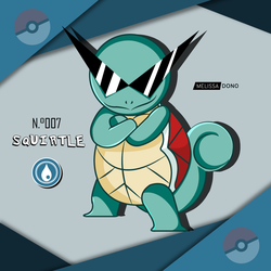 Squirtle swag by melissa-dono