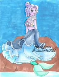 Cuphead: Cala Maria Gown by hopelessromantic721
