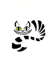 Cheshire Cat Tattoo by victizzle-mofo