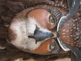 Owl make up by giuliasFX