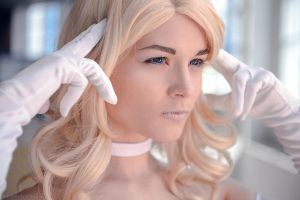 Marvel Comics. X-men Cosplay- Emma Frost Telepathy by Alex-Willow