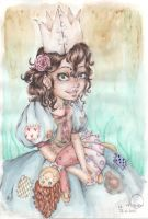 The little princess inside of everyone- colour by Namouah