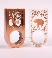Into the Woods Cocktail Ring by wee-beastie