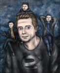 Sam Lake and the Remedy heroes by SeaCat2401