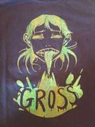 gross tee by UpstageGallery
