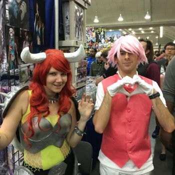 Otakon 2016 - Magical Boy meets Queen of Koopas by Robinsu