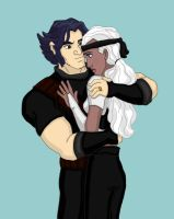 Logan and Storm Married by DKCissner