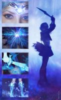 PGSM - Dark Sailor Mercury (Darkury) 9 by Ank-sama