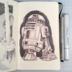 Inktober Day 27 - R2-D2 by D-MAC
