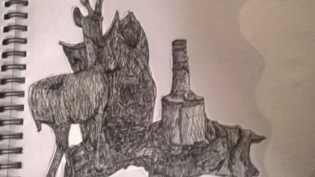 [Drawing Method #1] - Crosshatch technique by Luminouskies