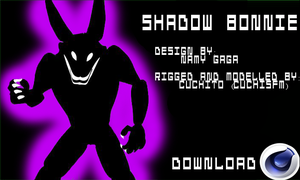 (C4D) Shadow Bonnie DOWNLOAD by CuchiSFM