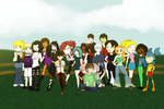 Xiaolin Showdown Family Photo 2014 by northstar2x