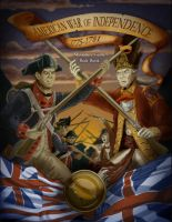 American War of Independence Miniature Game Cover by KileyBeecher