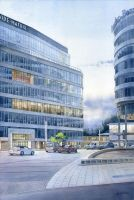 Libra Office Center in Warsaw by GreeGW