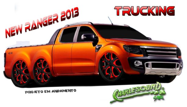 Ford New Ranger 2013 by CHARLESOUNDcar