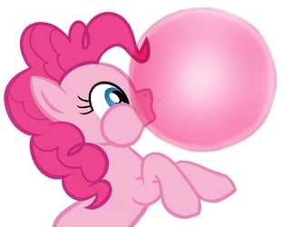 Pinkie's Bubble Gum by WWrite
