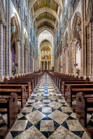 Almudena Cathedral Madrid by Stefan-Becker