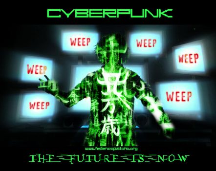 Cyberpunk - Th3 Future is now by M0lybdenum